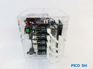 PicoCluster Pico 5 w/Raspberry Pi 4 8GB